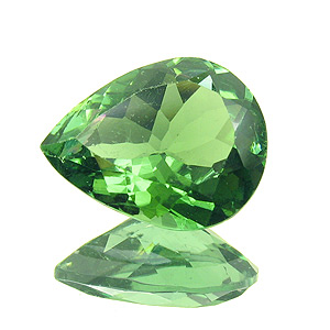 Tourmaline (Verdelite). 2.71 Carat. Pear, very very small inclusions