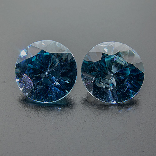 Zircon (Starlite) from Cambodia. 2.12 Carat. Round, small inclusions