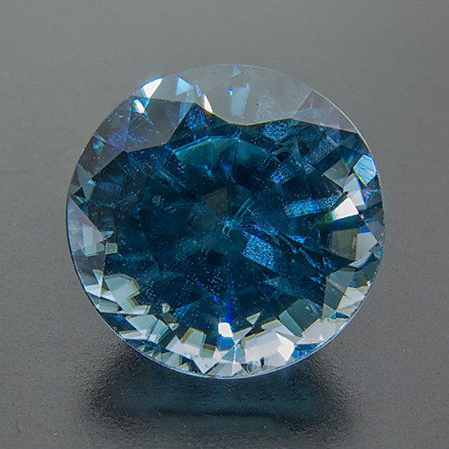Zircon (Starlite) from Cambodia. 4.17 Carat. Round, very small inclusions