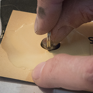 Imprint in sealing wax